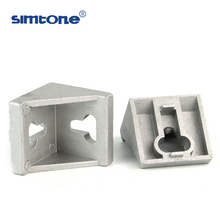 4545 5050 size t slot 90 degree aluminium profile accessories bracket