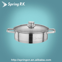 Sample Stainless Steel Pot Induction Cookware