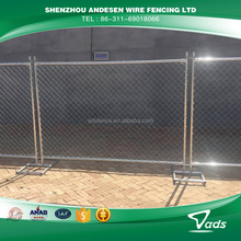 powder coated temporary fence from china