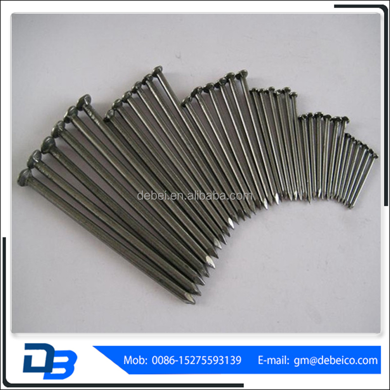 1-5 Inches Steel Galvanized Concrete Nail Common Round Wire Nails