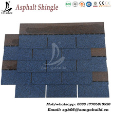 Wholesale roofing shingle price,3 tab harbor blue asphalt shingle, Kerala asphalt shingles roofing Factory