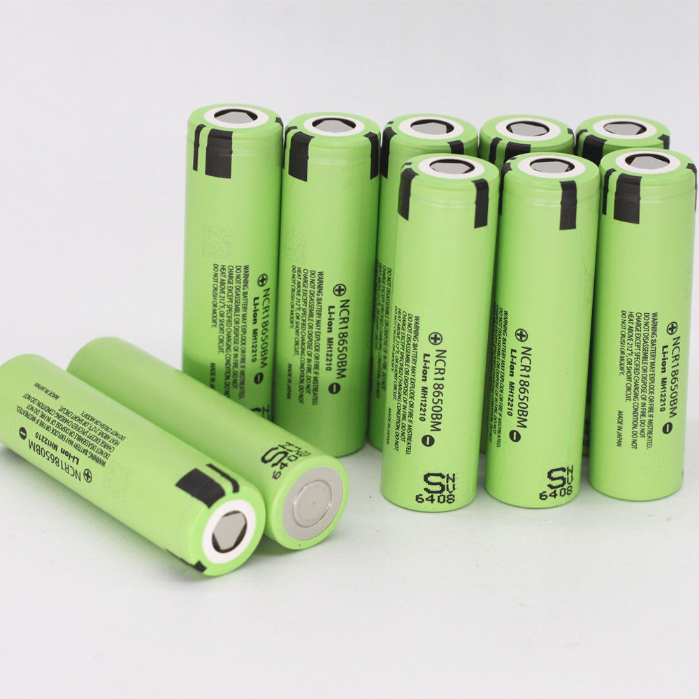 NCR18650BM 3.7V 3200mAh 18650 Rechargeable FLAT Li-ion Battery 3.7v NCR