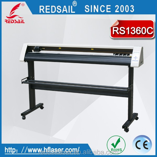 Redsail sign vinyl cutting plotter RS1360C with high quality and favorable price for cutting