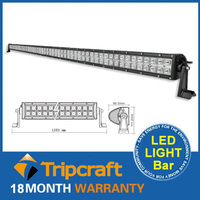 hotsale 50inch 288w waterproof flood spot combo beam lamp 4x4 led off-road light for auto lighting system