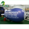 Giant Digital Printing Advertising Floating Zeppelin / Promotional Helium Inflatable PVC Blimp Balloon