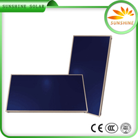 High Efficiency Vacuum Solar Collector China Solar Collector Project