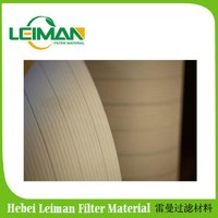 HV nano fiber air filter paper /Filter paper for heavy air filtration equipment