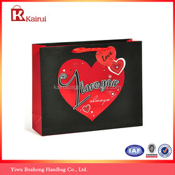 Attractive vanlentine's day bag paper