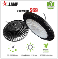 STL new Product IP65 DLC SAA TUV CE certification smd ac led module 200 watt driverless high bay led light industrial
