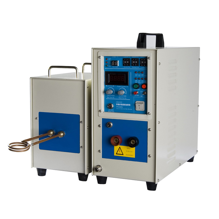 China best high frequency induction heating saw blade brazing machine