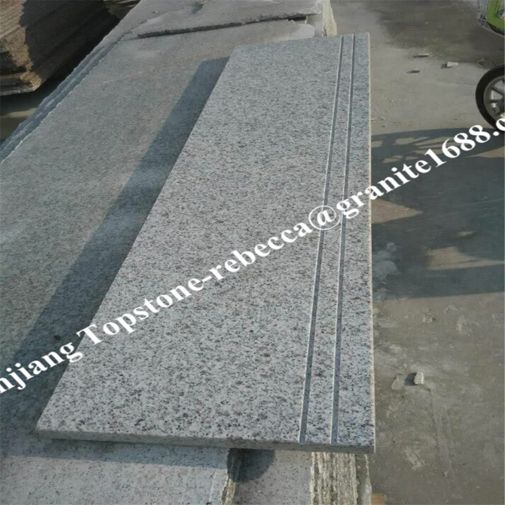 G603 Granite Outdoor Stone Steps Risers Granite Stairs