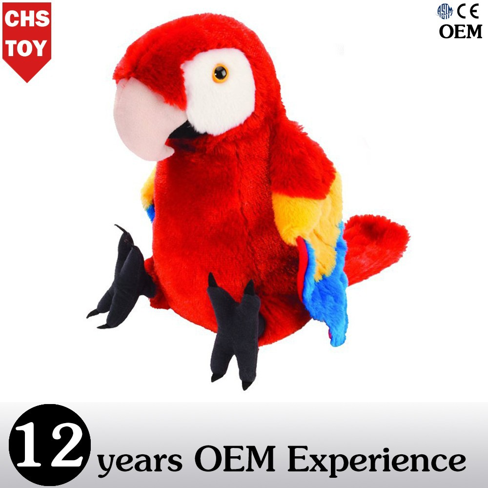 CHStoy stuffed parrot toy