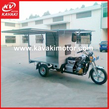 Cargo Tricycle 250cc Automatic Motorcycle / Used Tricycle KAVAKI Famous Export Brand