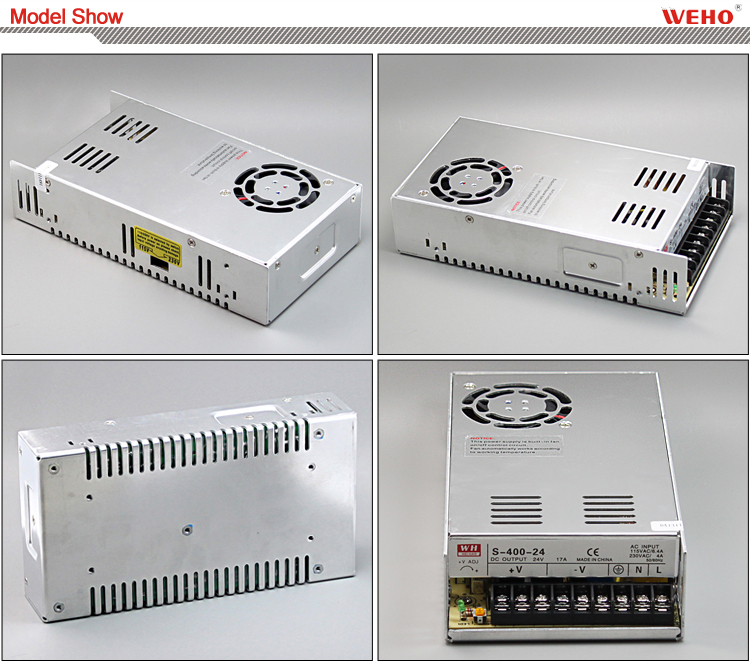 China manufacturer single output 110v 220v ac dc 400w 12v 33a switching power supply