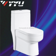 Ceramic bathroom Color One Piece Siphonic toilet alibaba china Y8004
