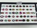 #OZZZ Natural Multi-Color Tourmaline Cuts