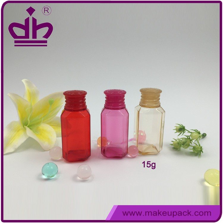 Cosmetic sample packaging square small lotion bottles