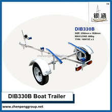 Galvanized Boat Trailer for canoe / kayak