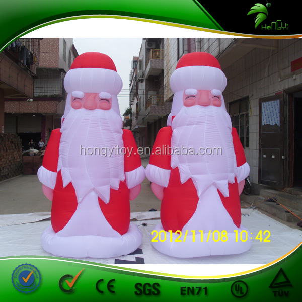 Innovative Christmas inflatable santa claus,moving santa claus,3m giant inflatable santa