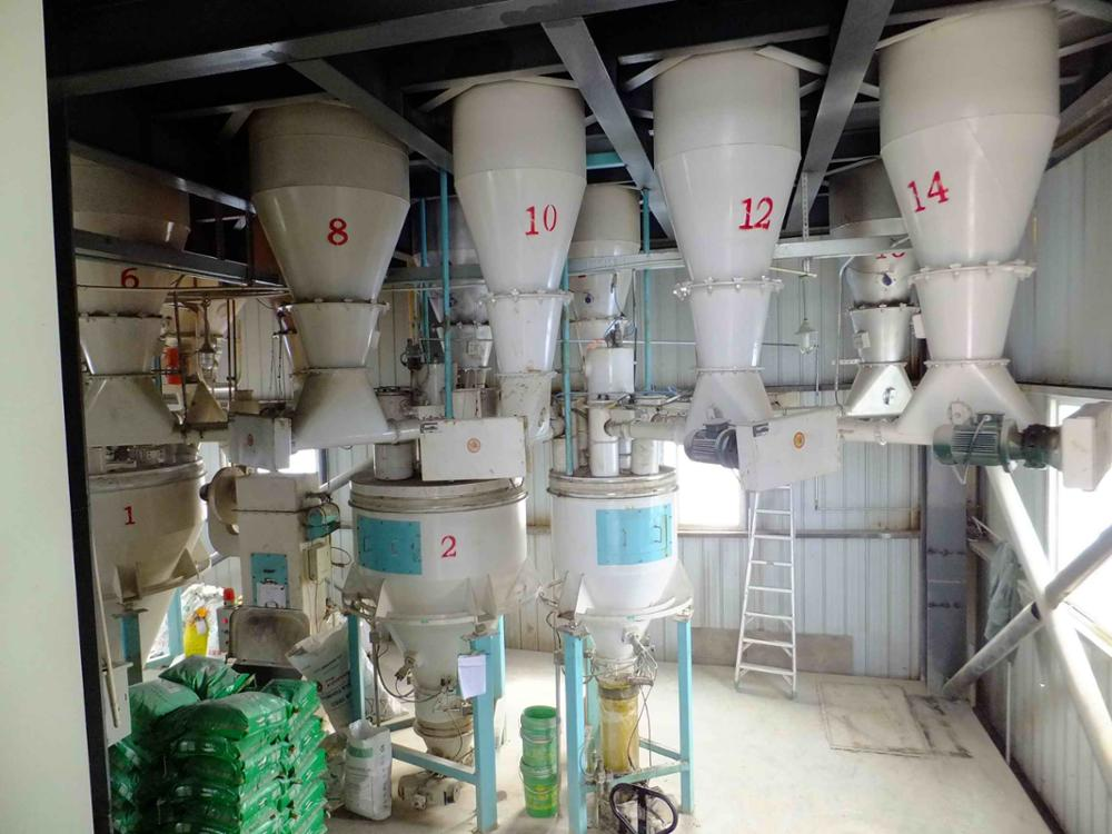 Top best quality poutry feed pellet production line High security