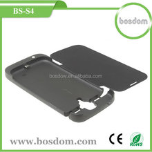 BS-S4 3200mah external battery charger case for samsung galaxy S4