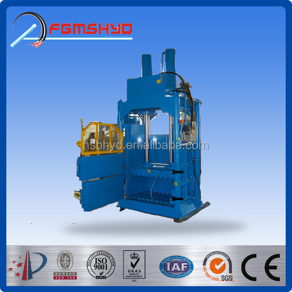 YD CE China factory made high quality used tire baler