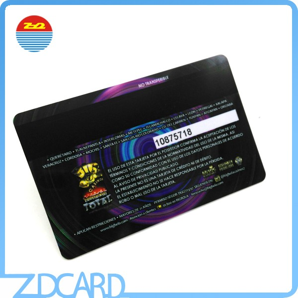 Custom Printing Plastic Smart loyality Ic Card