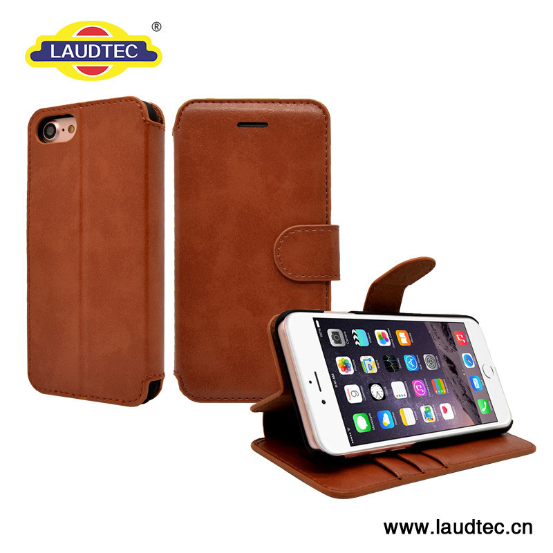 For S8 Round Corner leather cases with Edge-Folded Card Slots