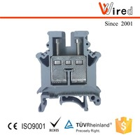Brass terminal block Phoenix type Wired WJHT16, wire connector and electric terminals,16mm2