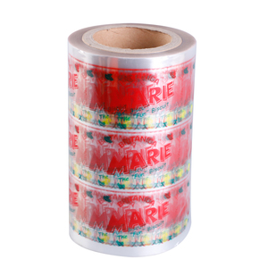 Food packaging opp pe plastic polyester pet film rolls