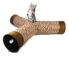 [Grace Pet] New Cat Toy 3-Way Cat Playing Tube/Cat Tunnel