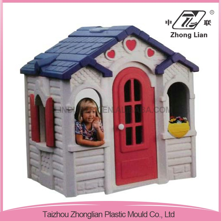 Cheap colorful PP kids outdoor playhouse