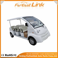 low price 8 seats Electric Tourism/School Bus/ electric sightseeing bus L08 for sale