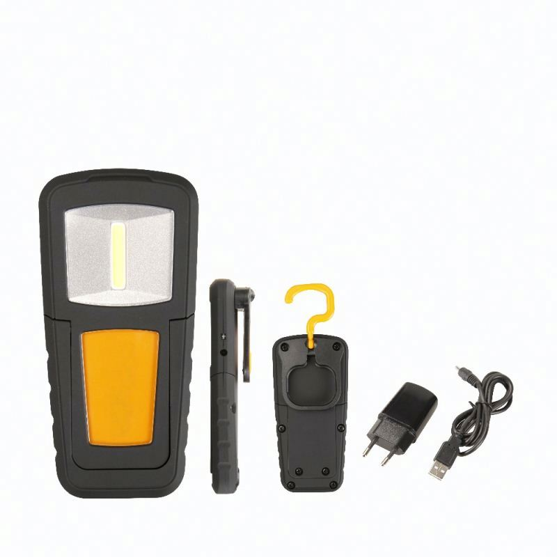 rechargeable led magnetic work light COB custom led light up case cell phone case