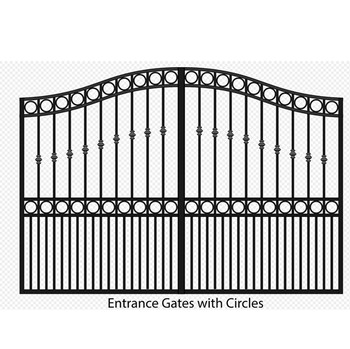 gate designs with galvanize sheet / laser cut main gate design