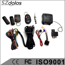 Ultrasonic Sensor Car Alarm with better anti-jamming function hot selling car alarm system for south america market