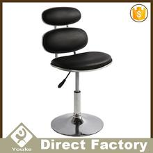 Simple style chrome base modern leisure ghost chair bar stool chairs