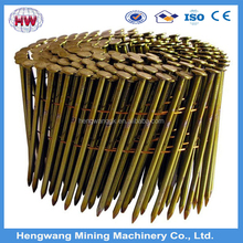 15 degree coil nails and bright wire nails for pallet nail