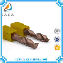 Tungsten carbide 6 flute end mill for metal