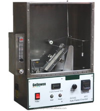 Flammability Tester is designed to determine the burning characteristics of textiles