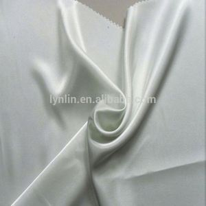 Cheap Textile Polyester Satin Plain Woven Fabric ,50D*75D
