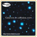 twinkle starry sky plastic led light fiber optical star cloth