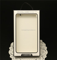 Transparent Cell Phone Accessories Retail Packaging,Hard Blank Phone Case With PVC Window