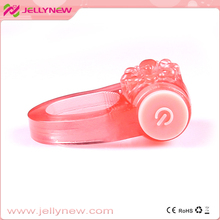 JNC-01006 Amazing sex penis cock ring vibrator & new arrival electronic cock ring