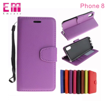 For iPhone 8 Phone case PU Leather Wallet Flip , Cell phone case for iPhone 8