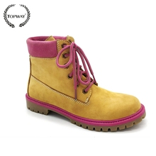 woman boot lady shoe, working boot woman shoe,leather boot wholesale china shoe