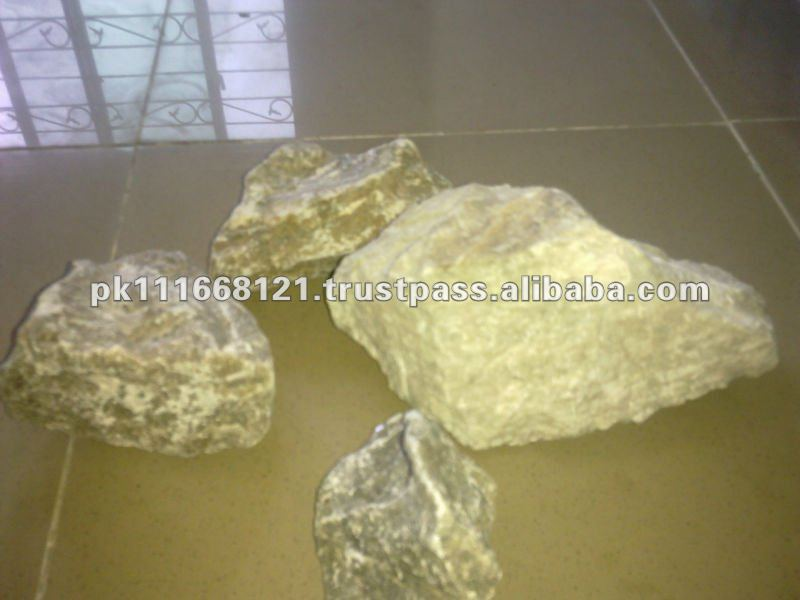 High Quality Good Purity Rocks Lump Natural Gypsum