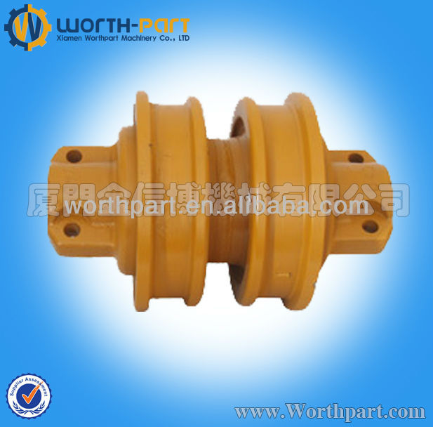 Bulldozer Double Sigle Flange Track Roller D4 D5 D6D D6C D7G D85 D8N D9G D10N D155 D355