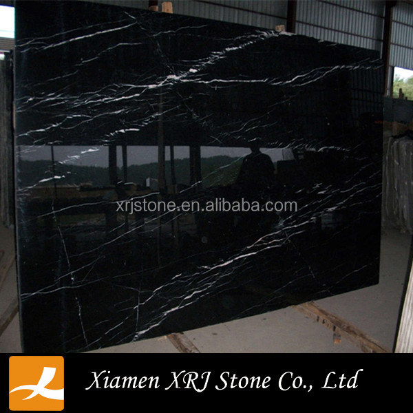Natural Polished Nero Marquina Marble Block Price