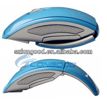 Latest 2.4G Wireless Foldable Folding Arc Optical Mouse Mice USB 2.0 Receiver